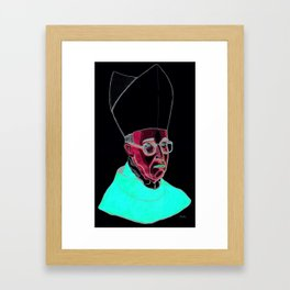 PAPA VERGOLIO by ANDONELLA Framed Art Print