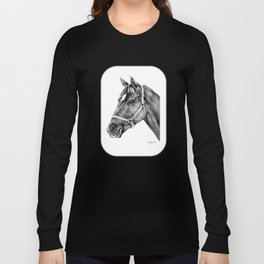 Affirmed (US) Thoroughbred Stallion Long Sleeve T-shirt