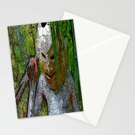 Madman of Papua New Guinea Stationery Cards