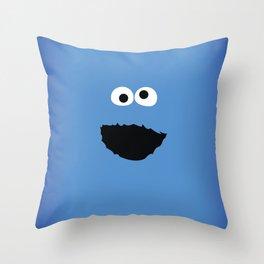 SESAME STREET cookie monster Throw Pillow
