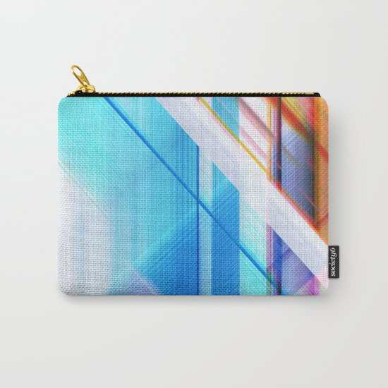 blue elevator Carry-All Pouch