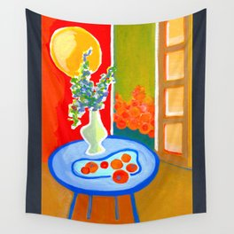 oranges in the afternoon ... Wall Tapestry