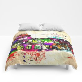 Colosseo Grunge Comforters