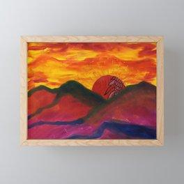 Tucson Framed Mini Art Print