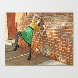 Brick by Brick  Canvas Print
