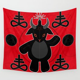 Baphomet Teddy Wall Tapestry