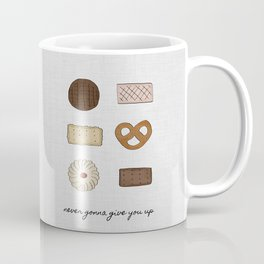 Never Gonna Give You Up Coffee Mug