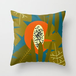 Lonely fruit Throw Pillow