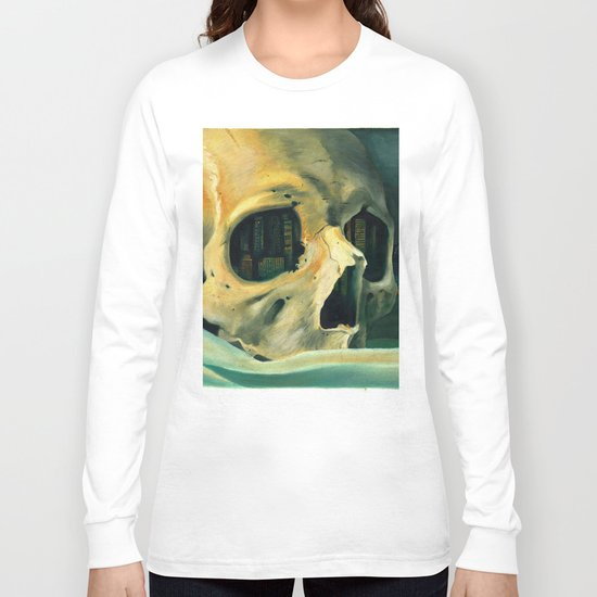 Civilizations Oil Painting Long Sleeve T-shirt