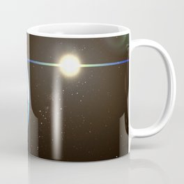 Night Lighted Earth from space Coffee Mug