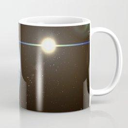 Night Lighted Earth from space Coffee Mug