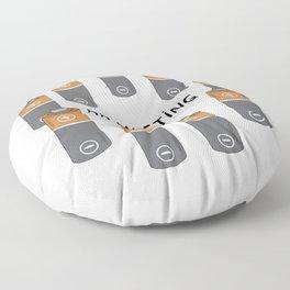 AA meeting Floor Pillow