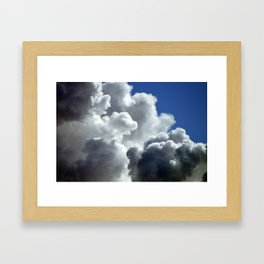 Does it exist? Framed Art Print