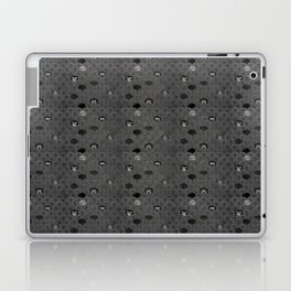 Rock Scales (Black and White) Laptop & iPad Skin