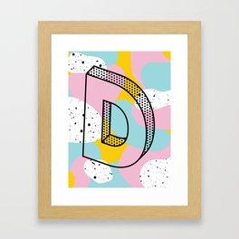 D. Framed Art Print