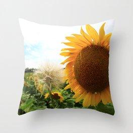 Sunflower 16 Throw Pillow