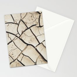 The absence of water Stationery Cards