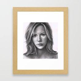 Kate Beckinsale Framed Art Print
