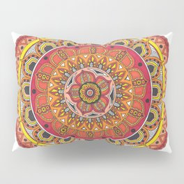 Mandala Art Pillow Sham