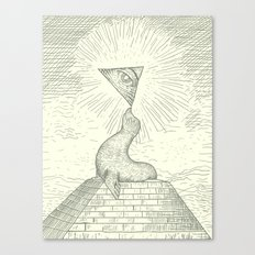 the Masonic Seal Canvas Print