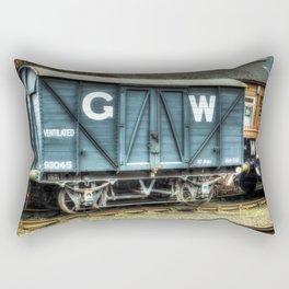 GWR Mink A Van Rectangular Pillow