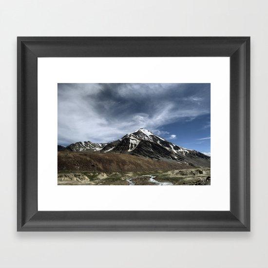 Majesty...the Mountain..! Framed Art Print