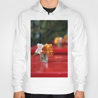 aperture Hoodies featuring The red table by Nina's clicks
