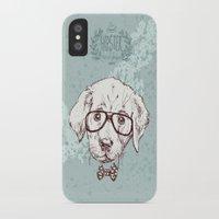 puppy iPhone & iPod Cases featuring Puppy by Iriskana
