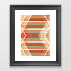 DecoChevron Framed Art Print