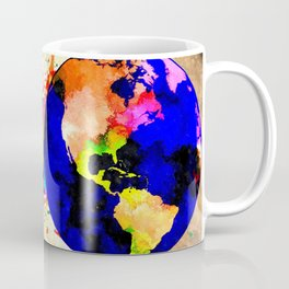 Earth Grunge Coffee Mug