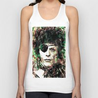 bowie Tank Tops featuring BOWIE by Vonis
