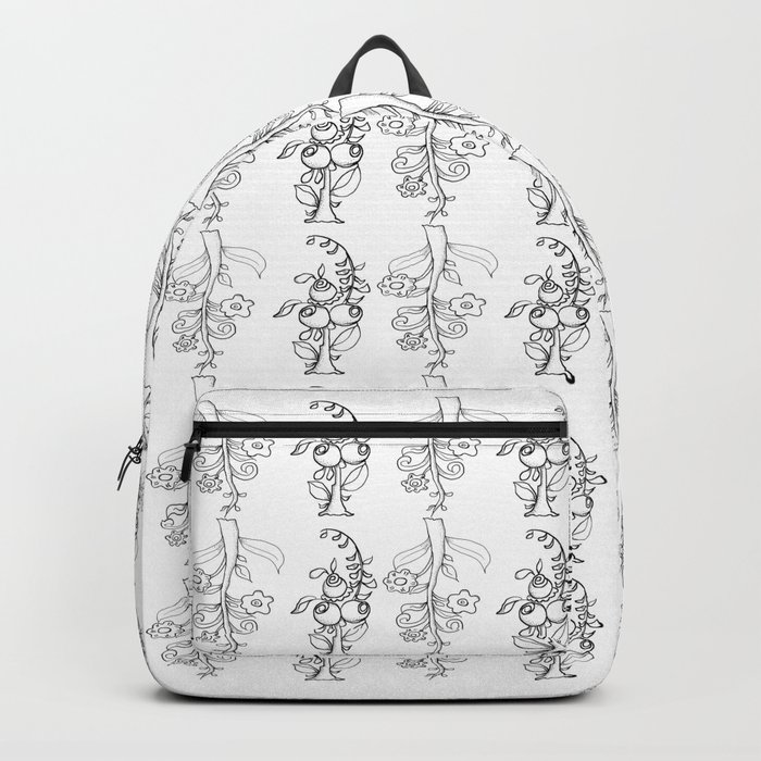 trees in this pattern Backpack