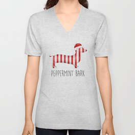 Peppermint Bark Unisex V-Neck