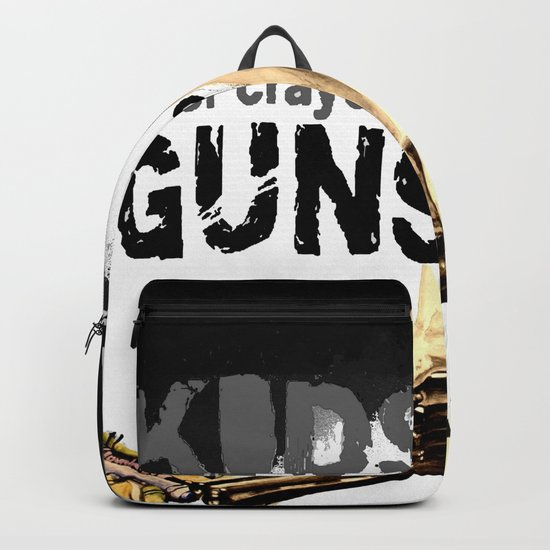 KIDS prefer crayons - black version Backpack