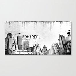 Montreal Canvas Print
