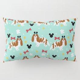 cavalier king charles blenheim coat theme park lover dog breed Pillow Sham