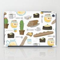 bread iPad Cases featuring Bread by Ceren Aksu Dikenci