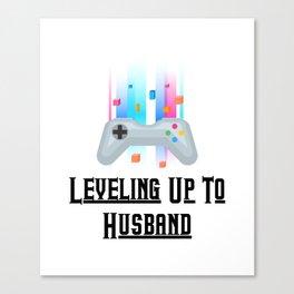 Groom Funny Wedding Party Canvas Print