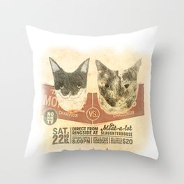KvK Throw Pillow