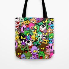 Monsters Doodles Characters Saga Tote Bag