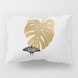 Botanical, Butterfly & Monstera Pillow Sham