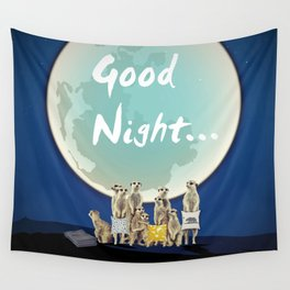Good Night Wall Tapestry