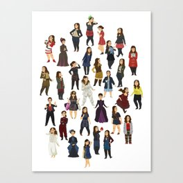 Every Clara Outfit Ever | S7 Canvas Print