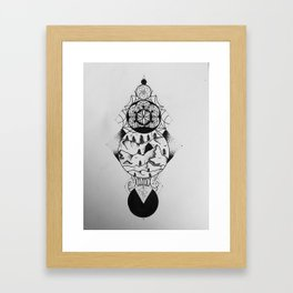 The Soul of The Mountain Framed Art Print