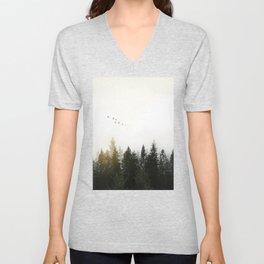 Forest Unisex V-Neck