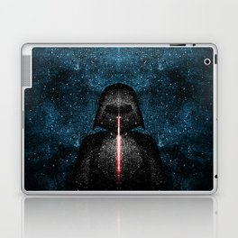 Darth Vader with Lightsaber in Galaxy Laptop & iPad Skin