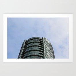 Burnaby condo tower Art Print