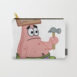 Patrick Star the Architect Carry-All Pouch
