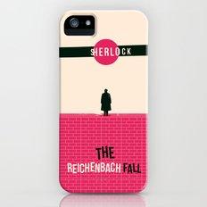 Reichenbach Fall iPhone (5, 5s) Slim Case