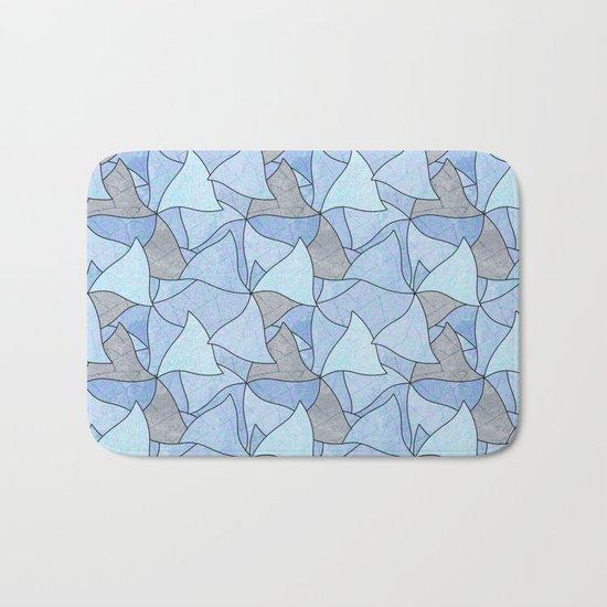 Abstract pattern . 2 Bath Mat